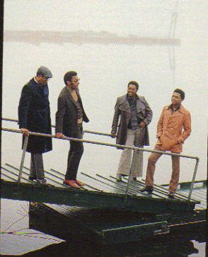 The Four Tops go boating